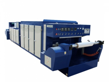 Demetalizing Machine for Metallized Film and Laser Holographic Film