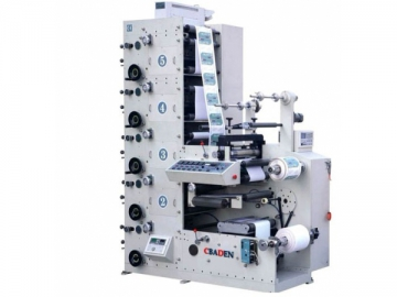 Label Paper Flexo Printing Machine
