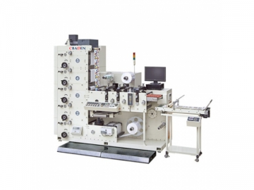 Die Cutting Flexo Printing Machine