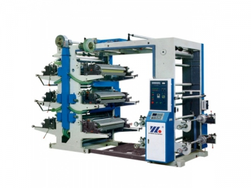 Plastic Bag Film Flexographic Printing Machine