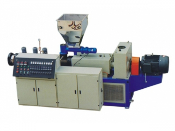 Twin Screw Plastic Extrusion Machine, Plastic Extruder