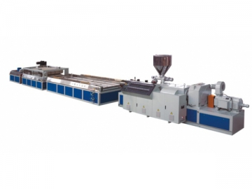 PVC Extrusion Profile (Board) Production Line