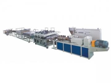 Corrugated PVC Tile Production Line