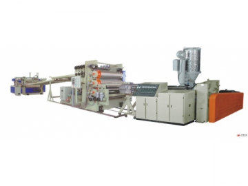 Wood Plastic Composite Board Production Line