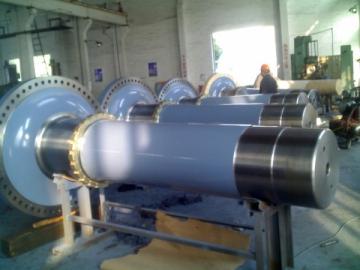 Wind Power Turbine Shaft