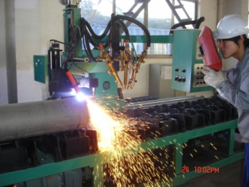 Pipe Plasma Beveling and Cutting Machine (Roller Bench Type)