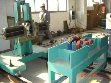 Slip-On Flange and Pipe Fast Fitting-Up Machine