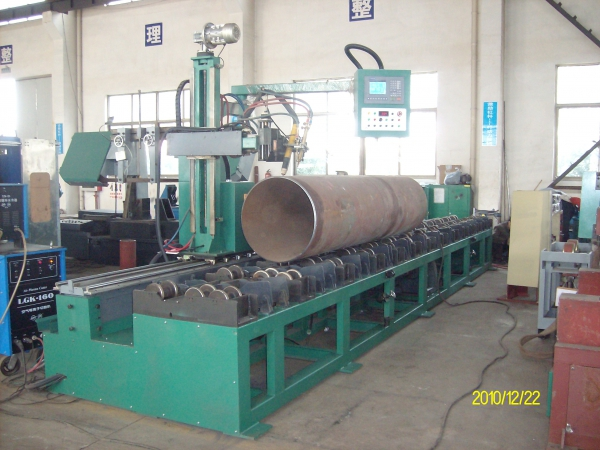 Pipe Flame Beveling and Cutting Machine (Roller Bench Type)