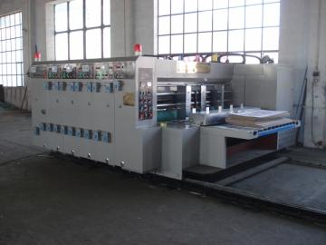 High Speed Water Ink Printer Slotter Machine